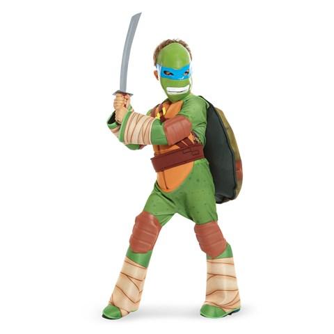 Teenage Mutant Ninja Turtle - Leonardo Kids Costume with Vinyl Mask