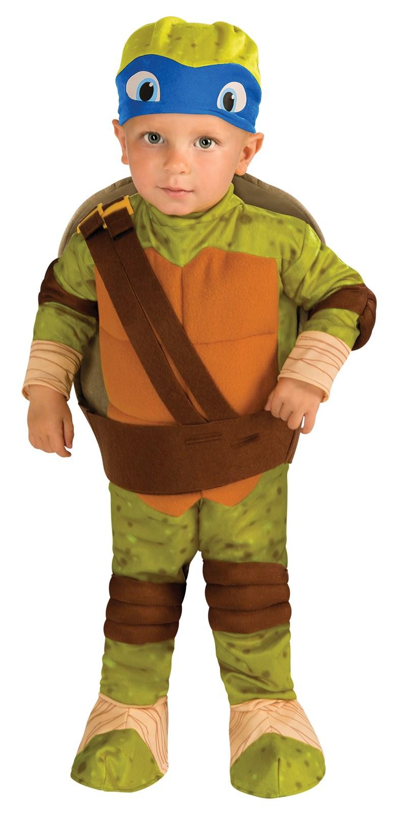 teenage mutant ninja turtle leonardo toddler costume - Halloween Costumes 4t