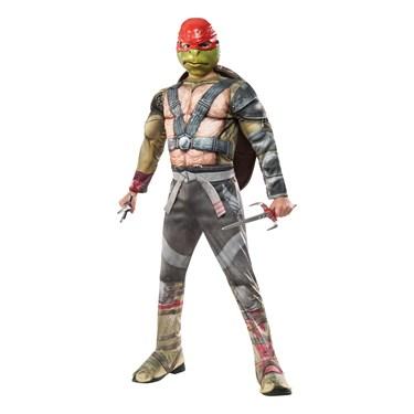 Teenage Mutant Ninja Turtles 2: Deluxe Raphael Child Costume