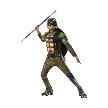 Teenage Mutant Ninja Turtles 2: Donatello Deluxe Movie Version Child Costume