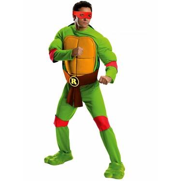 Teenage Mutant Ninja Turtles Raphael Deluxe Adult Costume