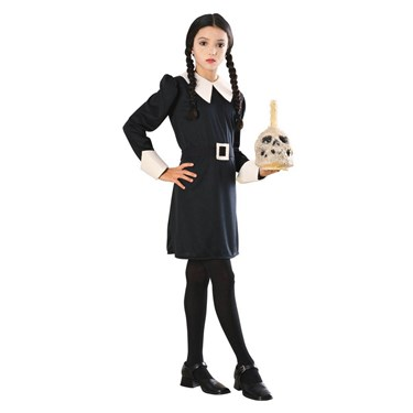 The Addams Family Wednesday Addams Child Costume