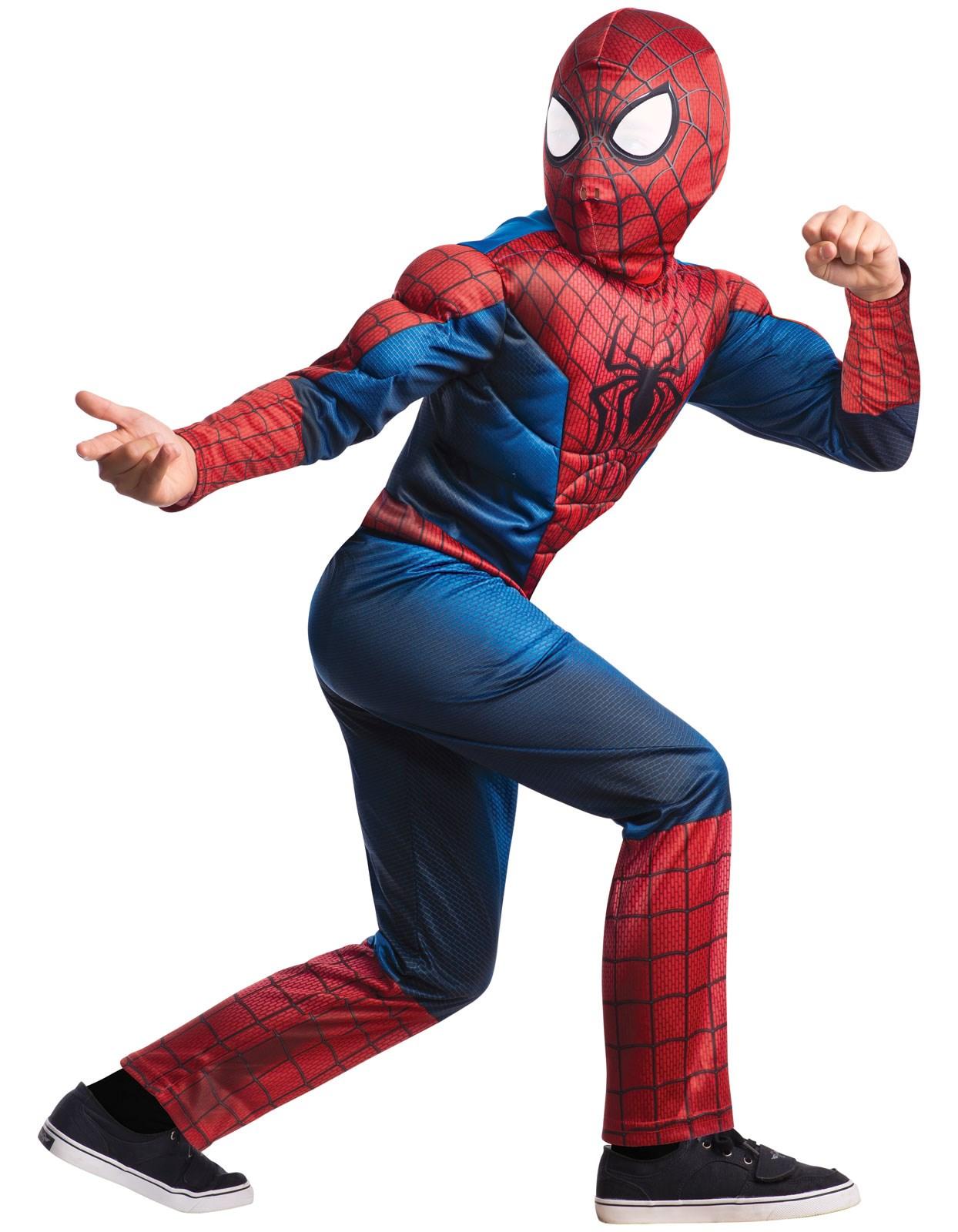the amazing spider man 2 deluxe child costume