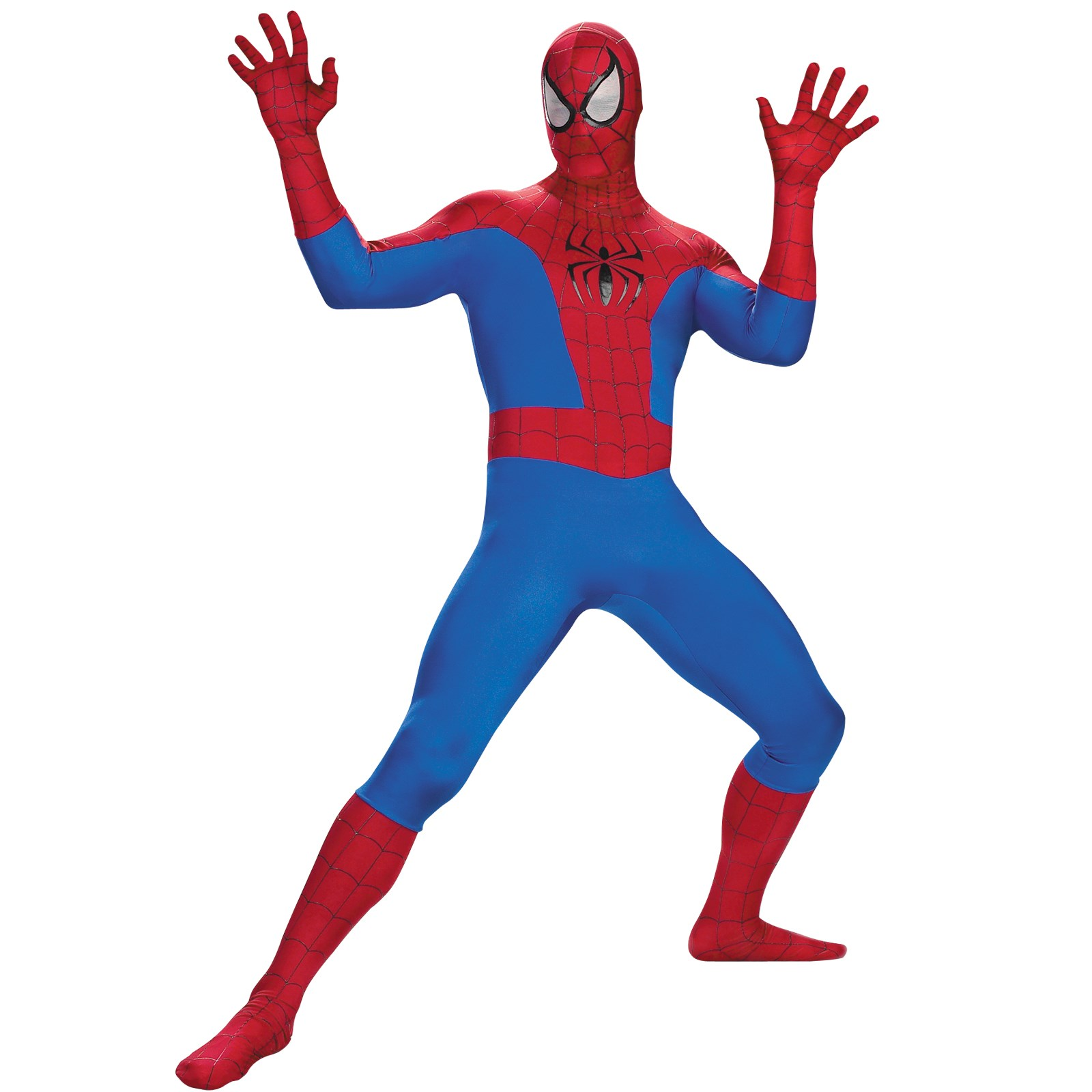 The Amazing Spider Man Super Deluxe Teen Costume
