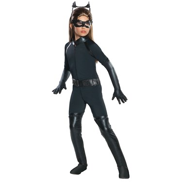 The Dark Knight Rises Deluxe Catwoman Child Costume