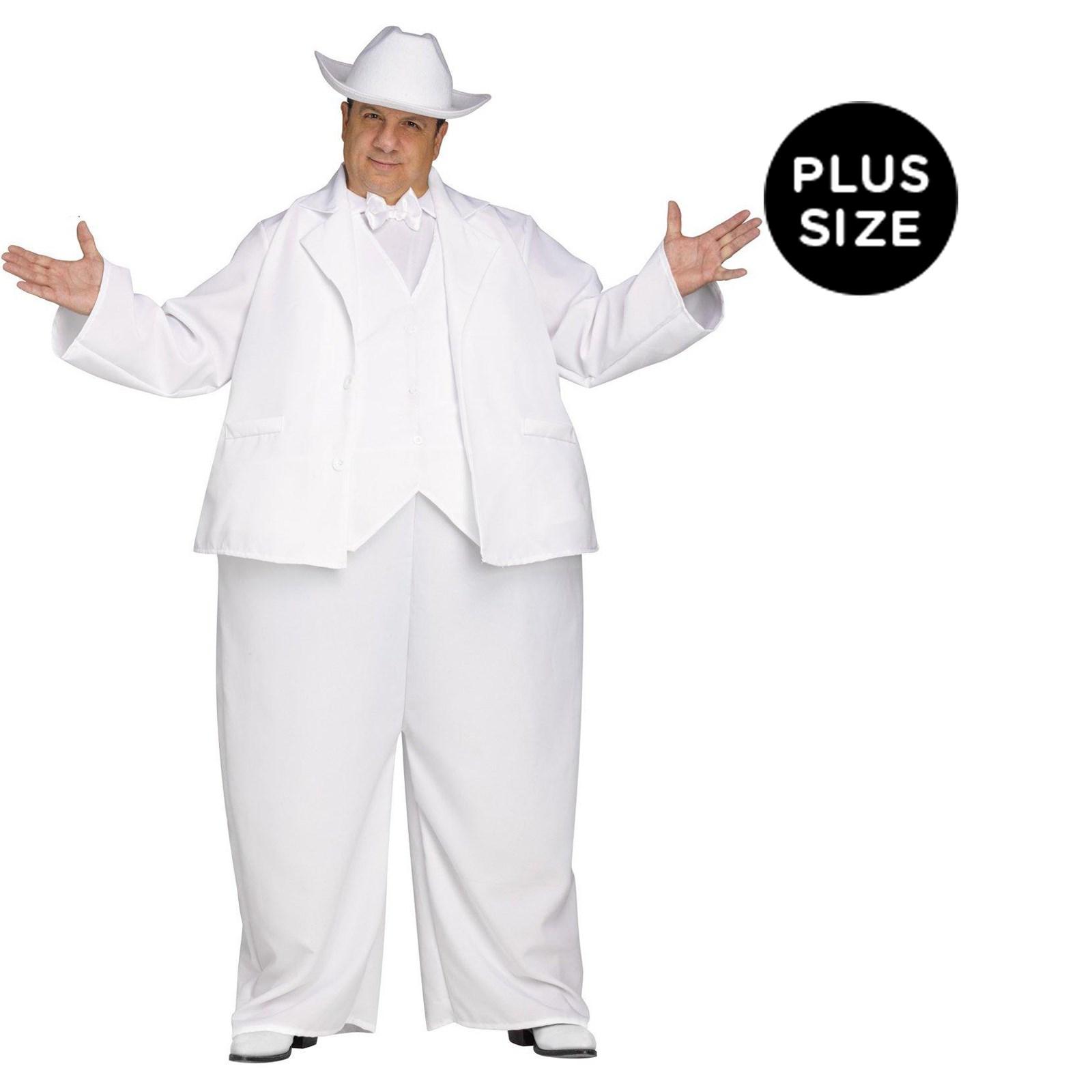 The Dukes of Hazzard Boss Hogg Plus Size Costume For Men