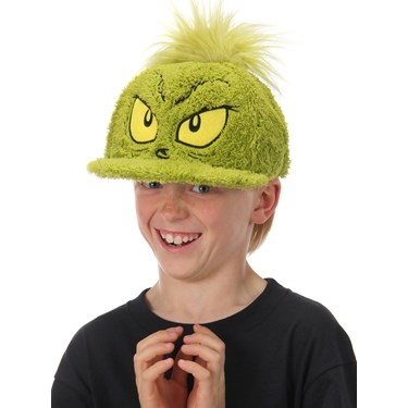 The Grinch Adult Fuzzy Cap