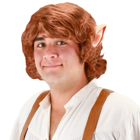 The Hobbit Bilbo Baggins Wig With Ears