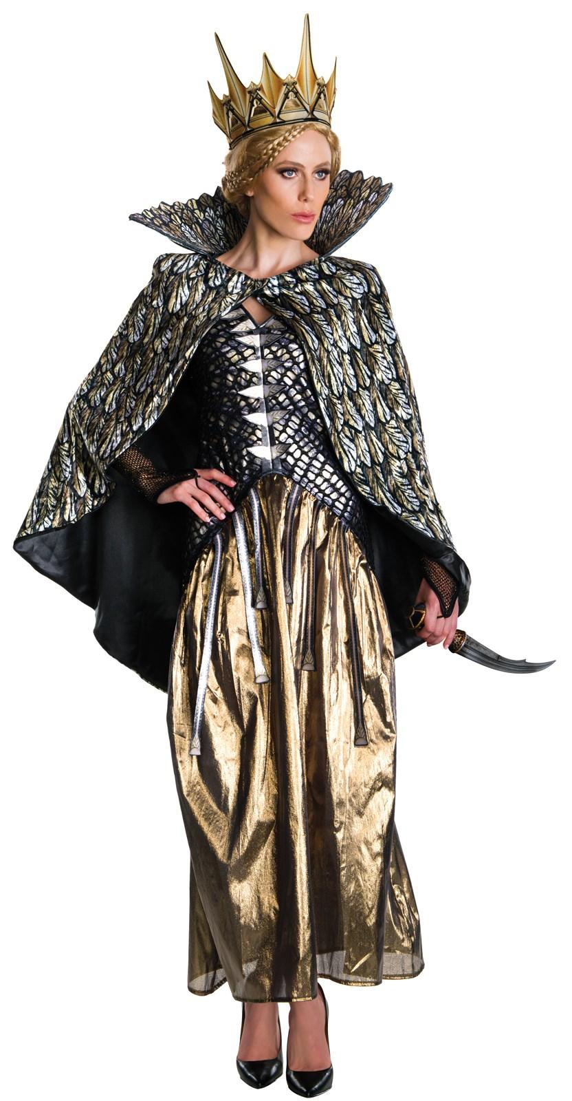 the huntsman winters war deluxe queen ravenna adult costume - Deluxe Halloween Costume