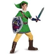 The Legend of Zelda: Boys Deluxe Link Costume