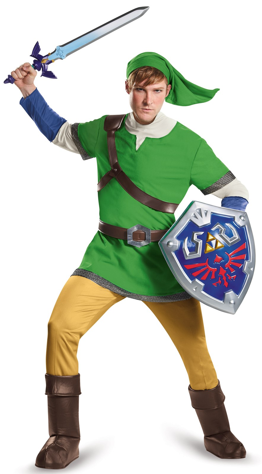 The Legend of Zelda: Deluxe Link Costume For Adults