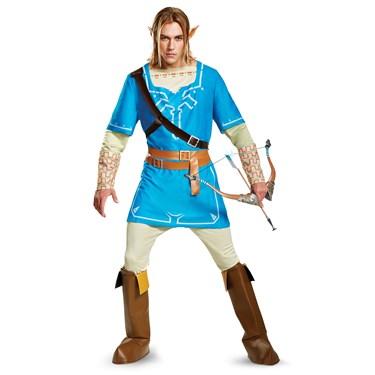 The Legend of Zelda: Link Breath Of The Wild Deluxe Adult Costume