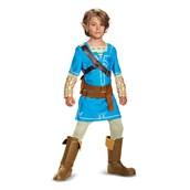 The Legend of Zelda: Link Breath Of The Wild Deluxe Child Costume
