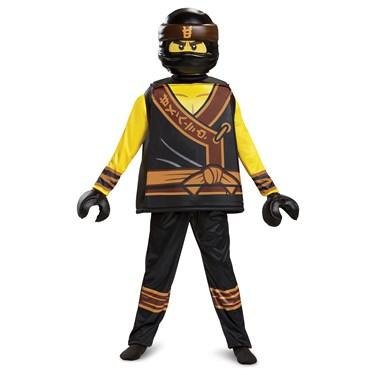 The Lego Ninjago Movie Cole Deluxe Child Costume