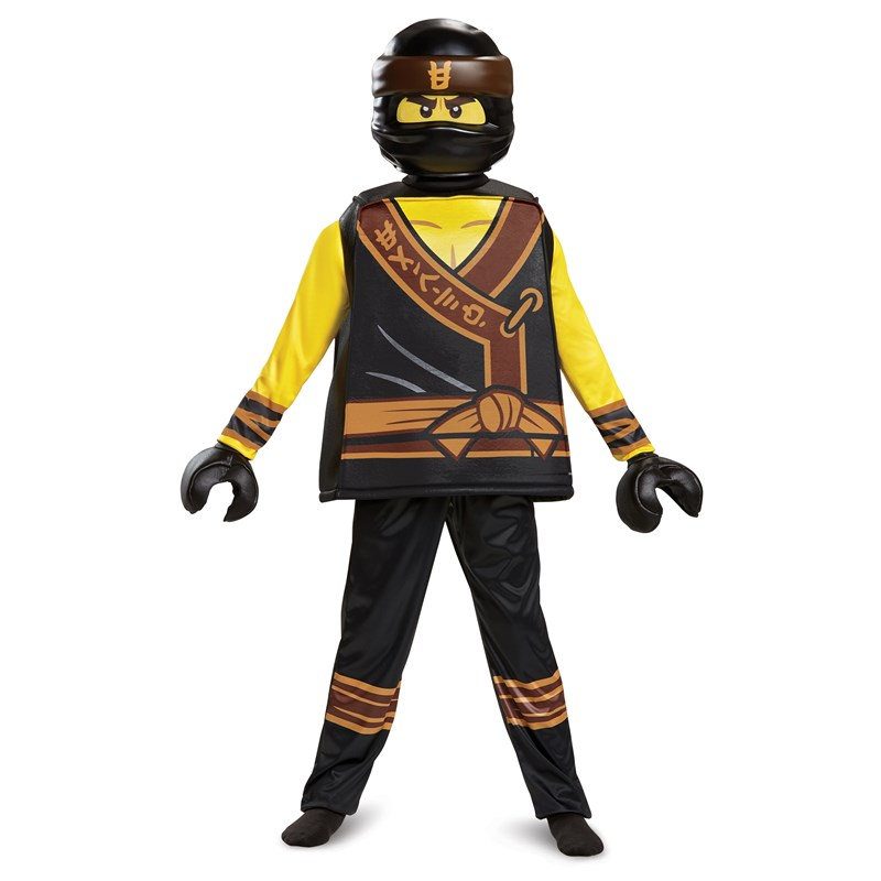 The Lego Ninjago Movie Cole Deluxe Child Costume | BuyCostumes.com