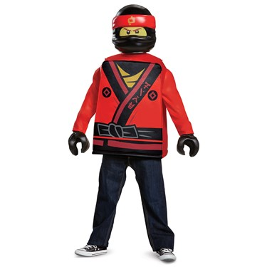 The Lego Ninjago Movie Kai Classic Child Costume