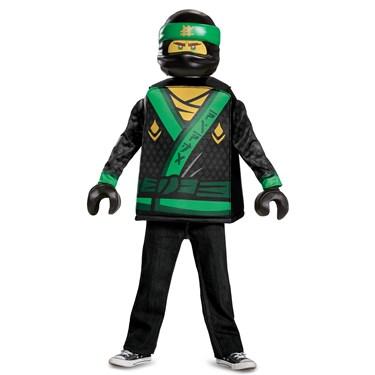 The Lego Ninjago Movie Lloyd Classic Child Costume