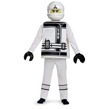 The Lego Ninjago Movie Zane Deluxe Child Costume
