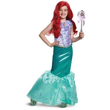The Little Mermaid  Ariel Deluxe Child Costume