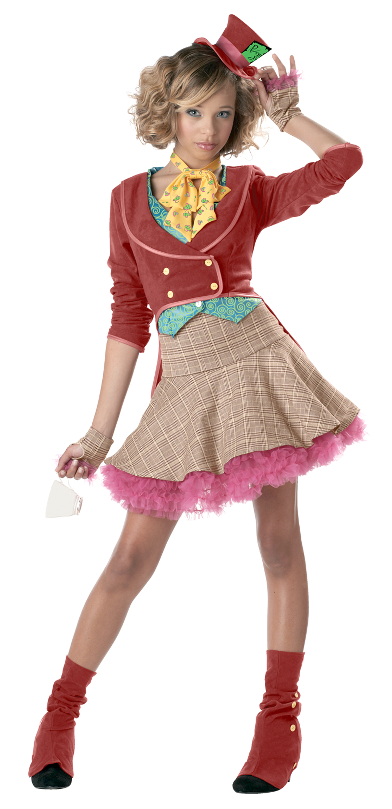The Mad Hatter Teen Costume | BuyCostumes.com