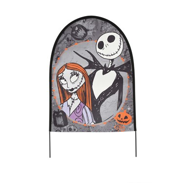 The Nightmare Before Christmas Fabric Tombstones (Set of 3)
