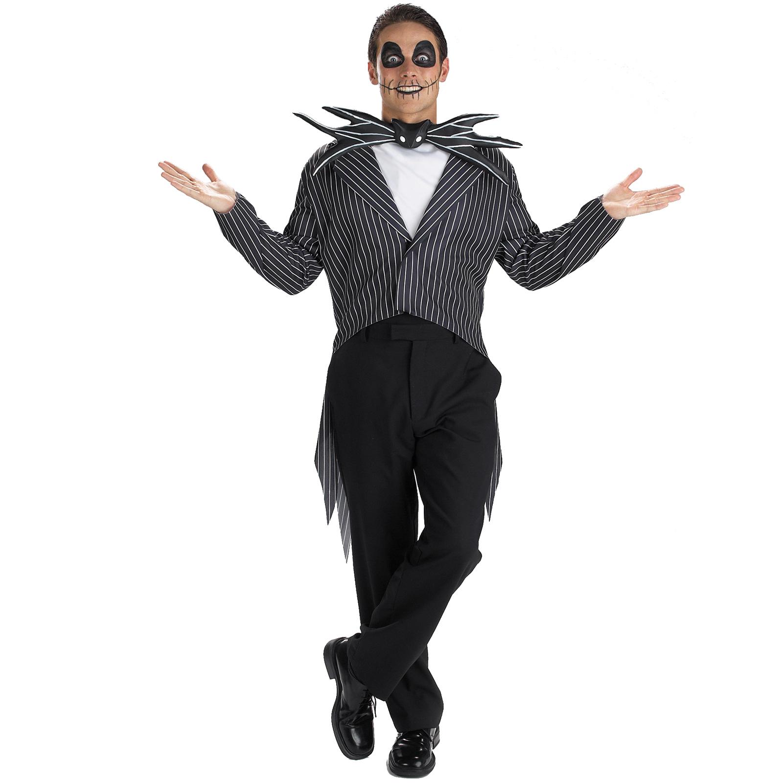 The Nightmare Before Christmas Jack Skellington Adult Costume ...