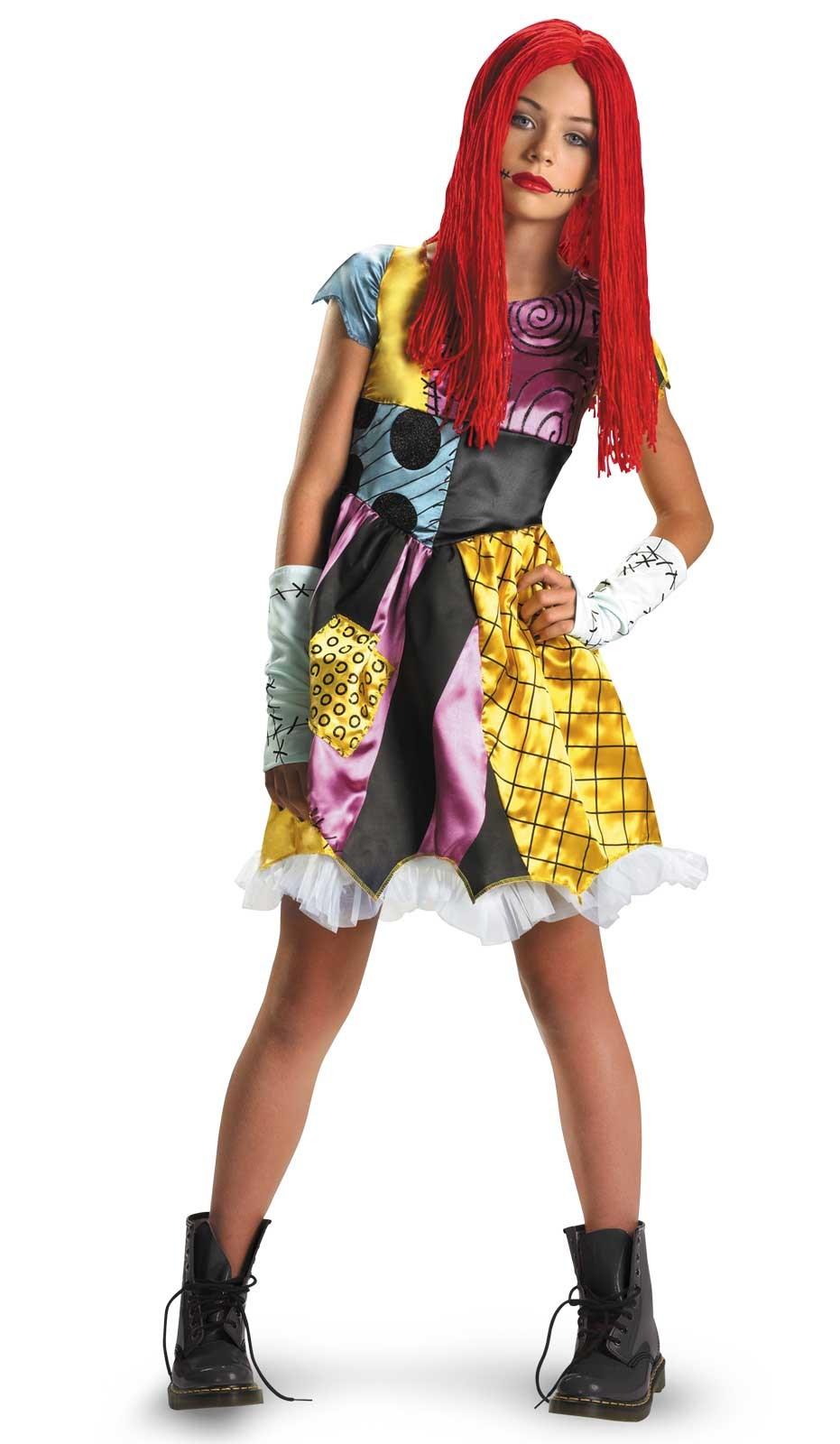 The Nightmare Before Christmas Sally Child / Tween Costume ...