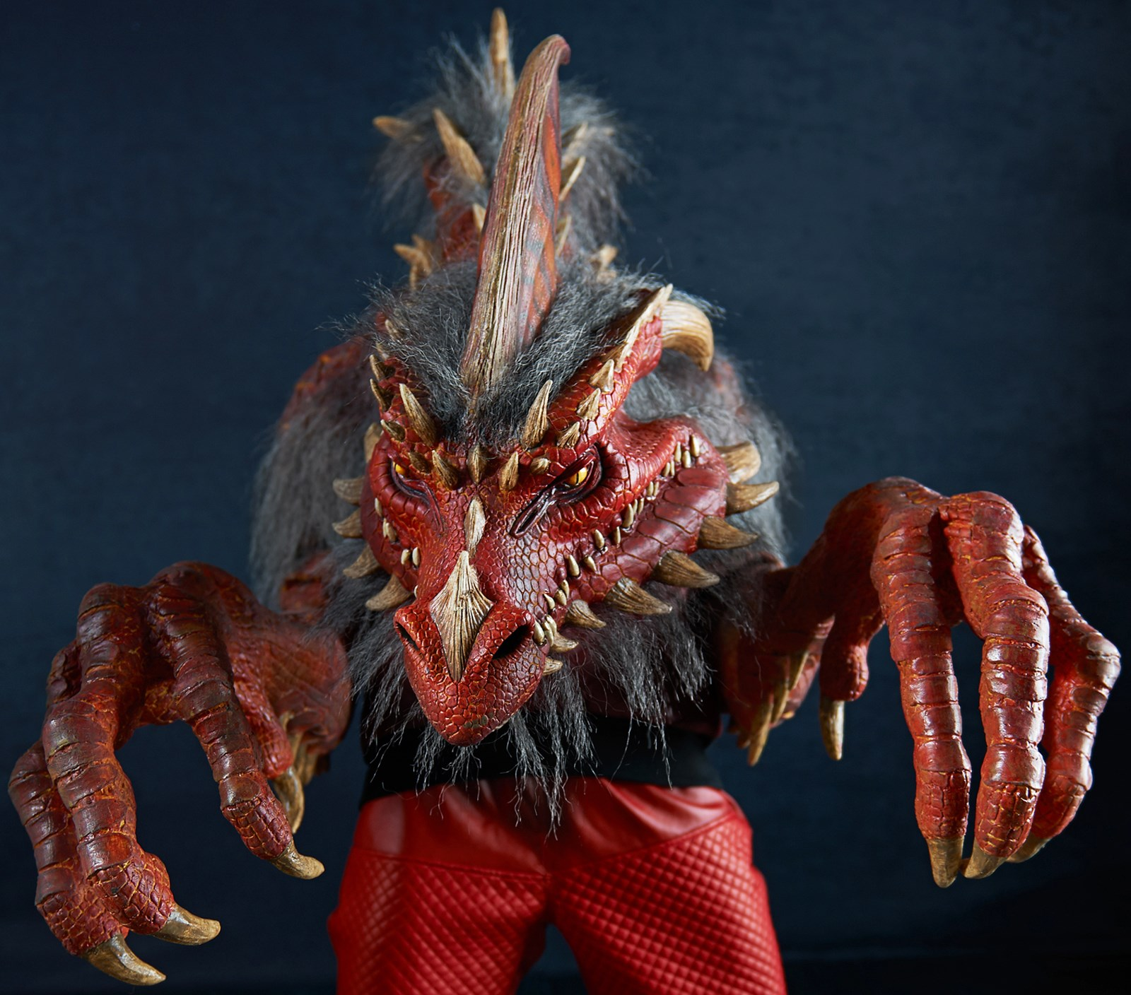 The Nightmare Collection – Ember – The Red Dragon Costume