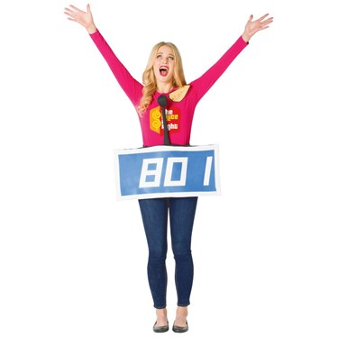 The Price is Right Contestant Row Blue Adult Costume