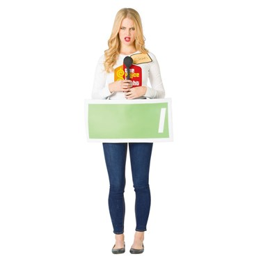 The Price is Right Contestant Row Green Adult Costume