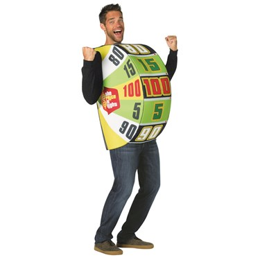The Price is Right The Big Wheel Adult Costume