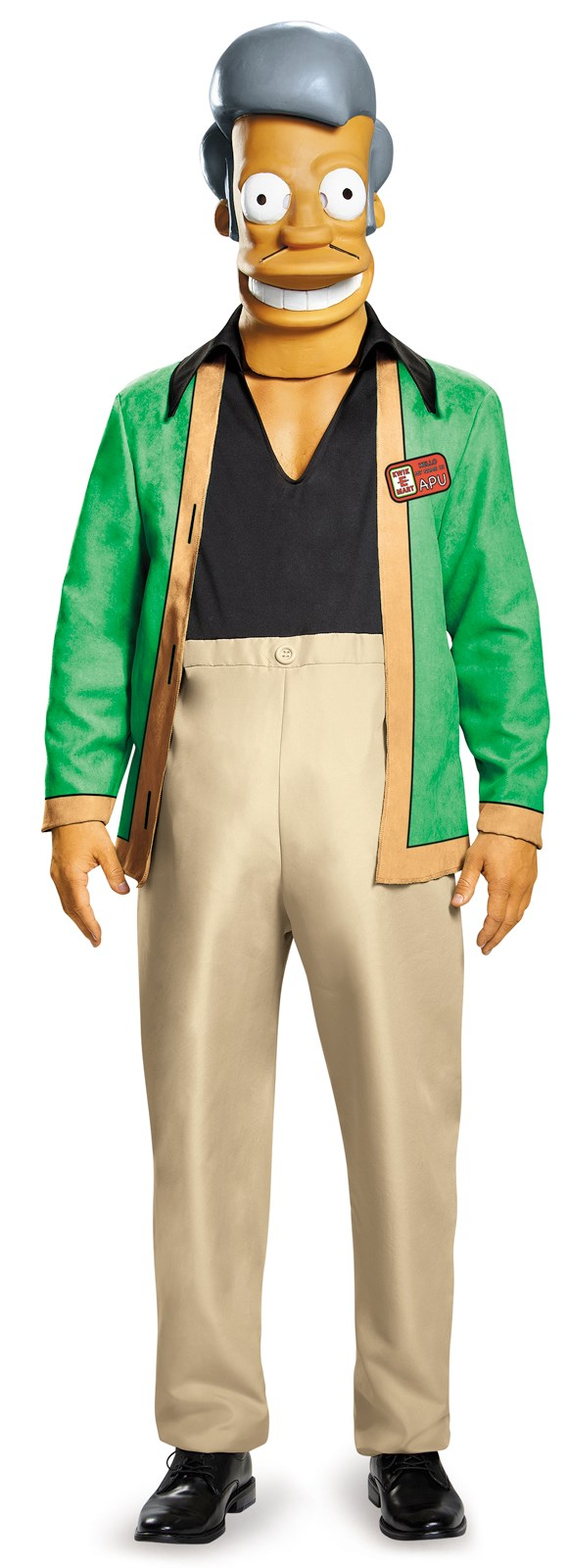 The Simpsons: Deluxe Apu Kwik E Mart Costume For Adults