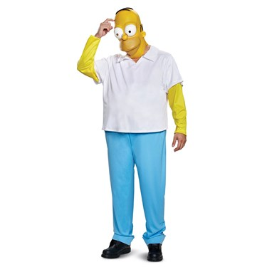 The Simpsons  Homer Deluxe Adult Costume