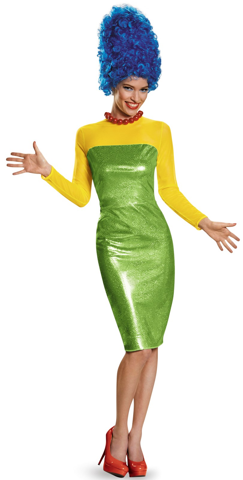 The Simpsons: Womens Deluxe Marge Costume
