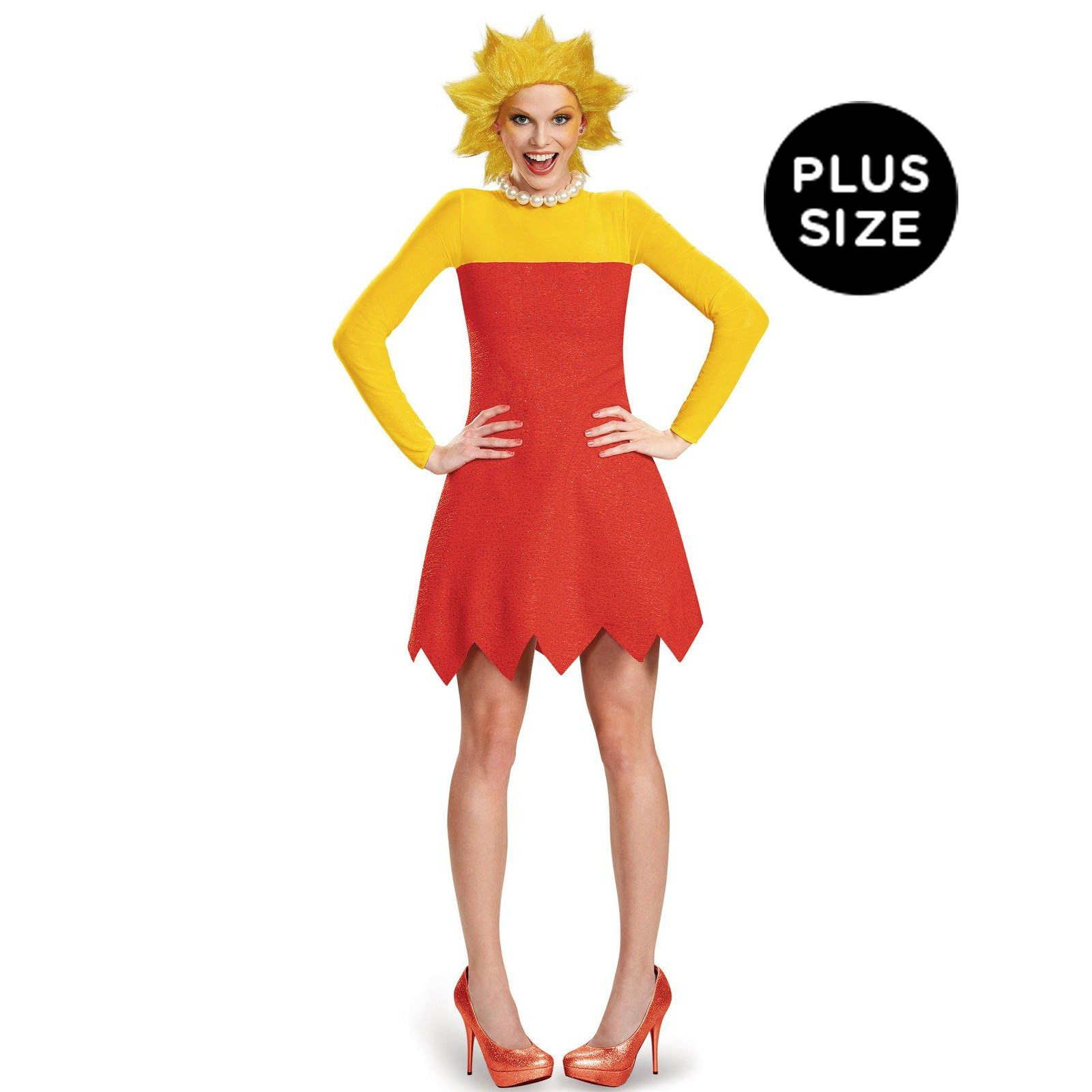 The Simpsons: Womens Deluxe Plus Size Lisa Costume | BuyCostumes.com