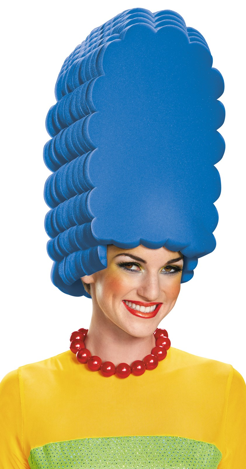 The Simpsons: Womens Marge Foam Wig