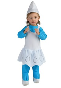 Click Here to buy The Smurfs - Smurfette Baby & Toddler Costume from BuyCostumes