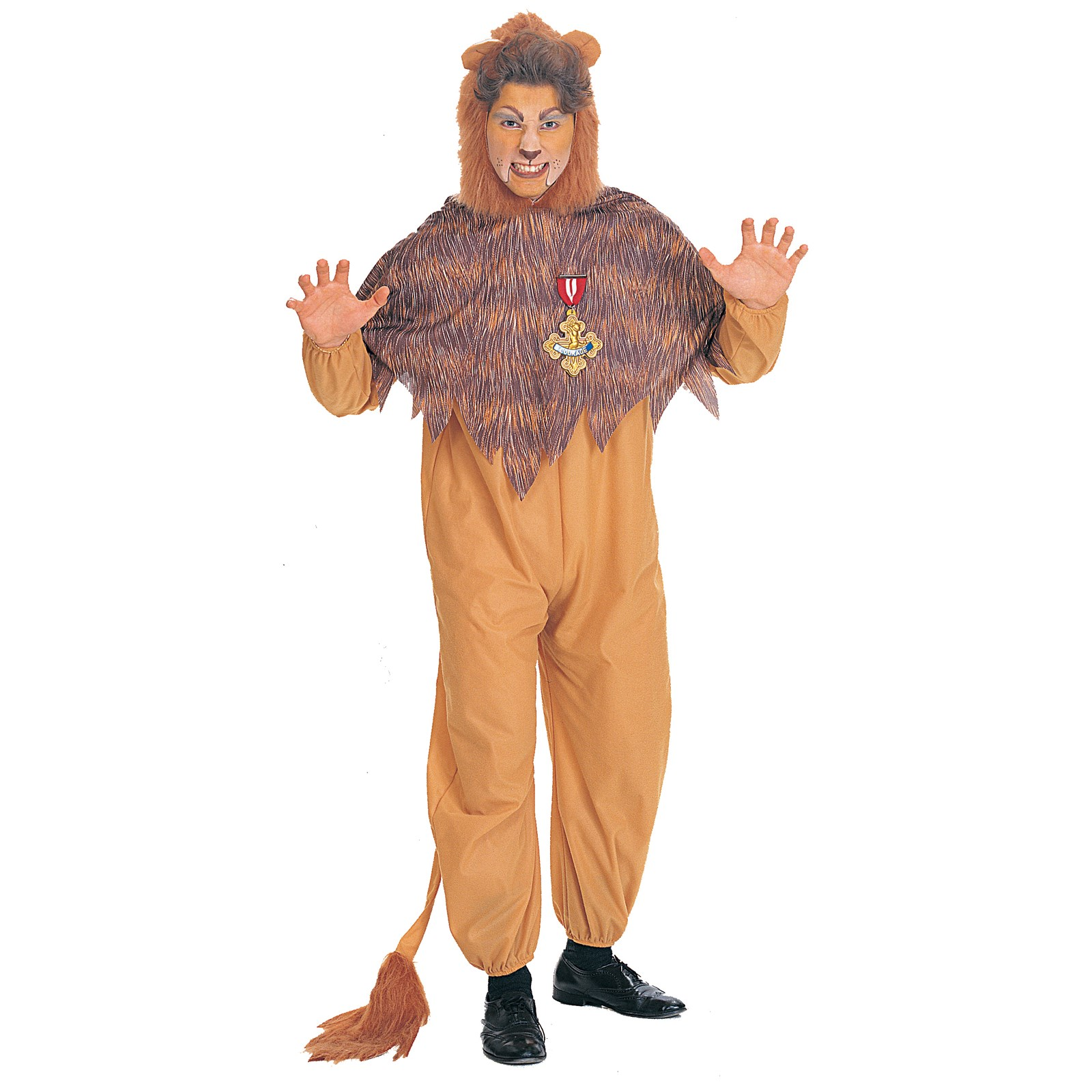 The Wizard of Oz Cowardly Lion Adult Costume | BuyCostumes.com