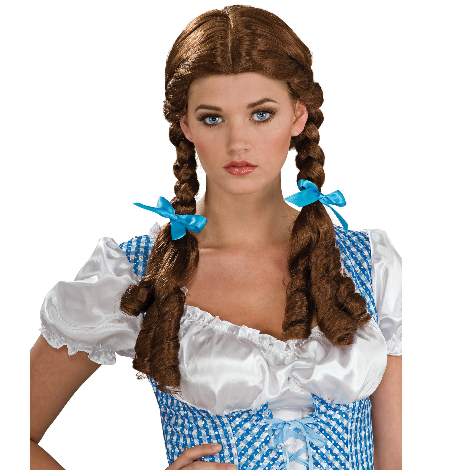 The Wizard of Oz Deluxe Dorothy Wig Adult | BuyCostumes.com