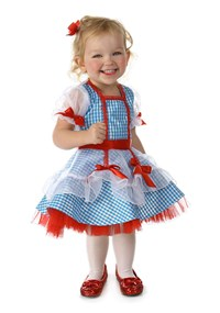 Click Here to buy The Wizard of Oz Dorothy Costume for Babys from BuyCostumes