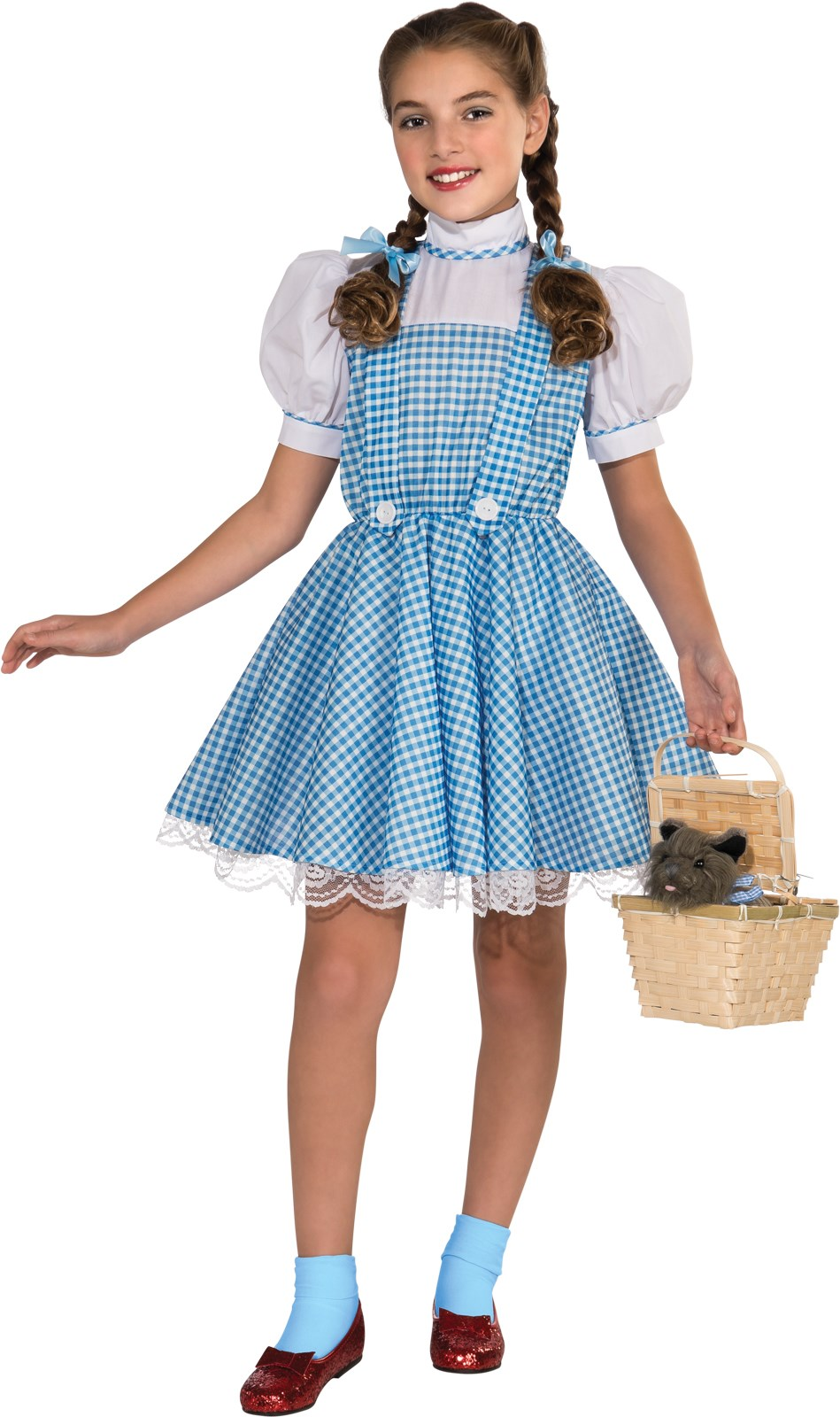The Wizard of Oz Dorothy Deluxe Child Costume | BuyCostumes.com