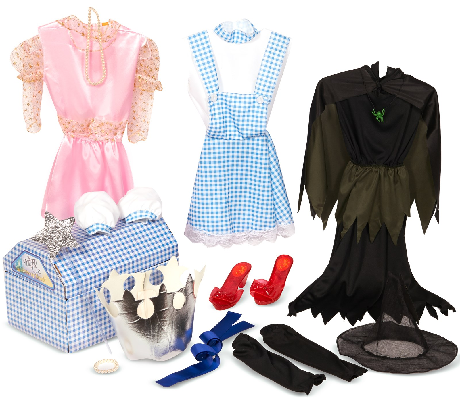 The Wizard of Oz Dress Up Trunk Child Costume Kits | BuyCostumes.com