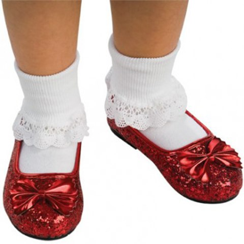 The Wizard of Oz - Ruby Child Slippers