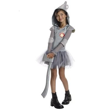 The Wizard Of Oz Tin Man Tutu Child Costume