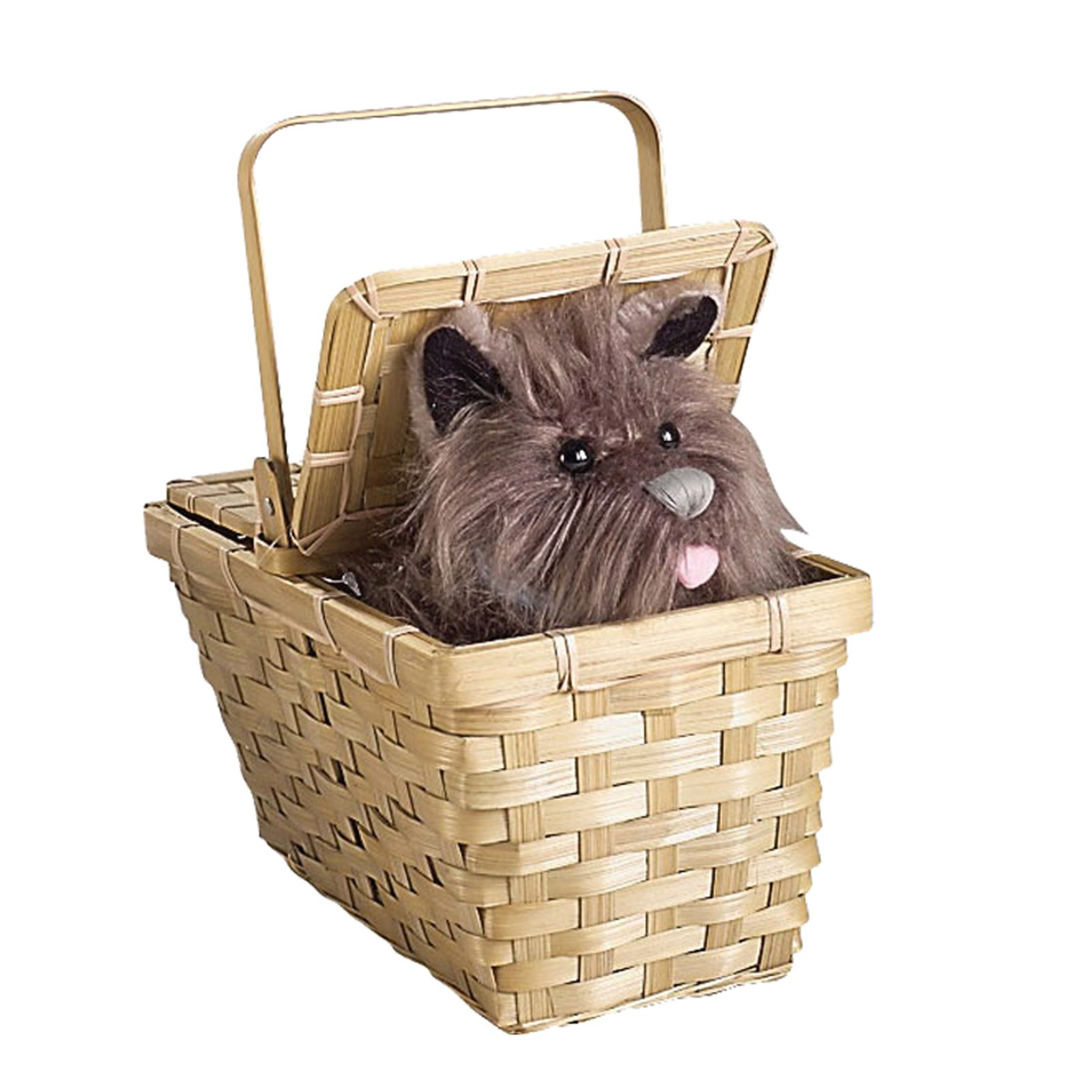 The Wizard of Oz Toto In Basket Deluxe | BuyCostumes.com