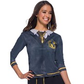 The Wizarding World Of Harry Potter Adult Hufflepuff Costume Top