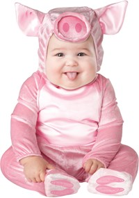 Click Here to buy This Lil Piggy Baby & Toddler Costume from BuyCostumes