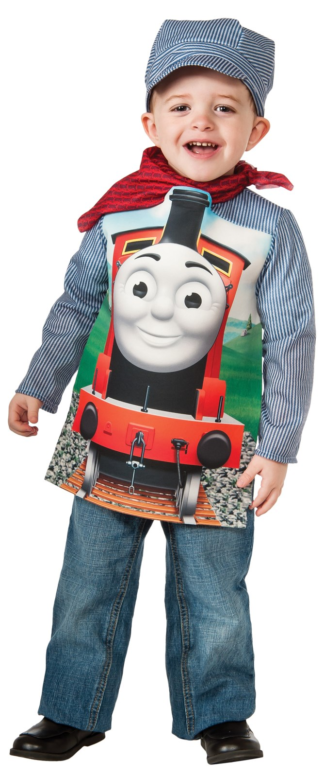 Thomas The Tank Deluxe James Toddler/Child Costume | BuyCostumes.com