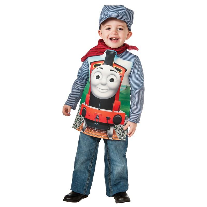 Italian Boy Name: Thomas The Tank Deluxe James Toddler/Child Costume