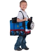 Thomas the Tank Engine Ride in Train Kid's Costume